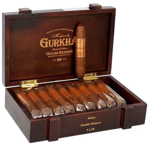 Gurkha Cellar Reserve 18 Year Solara 5 Quot 58
