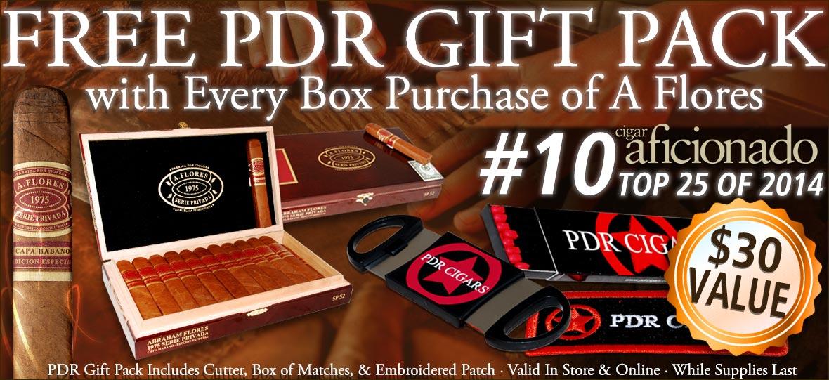 Free PDR Gift Pack with Every Box Purchase of A Flores