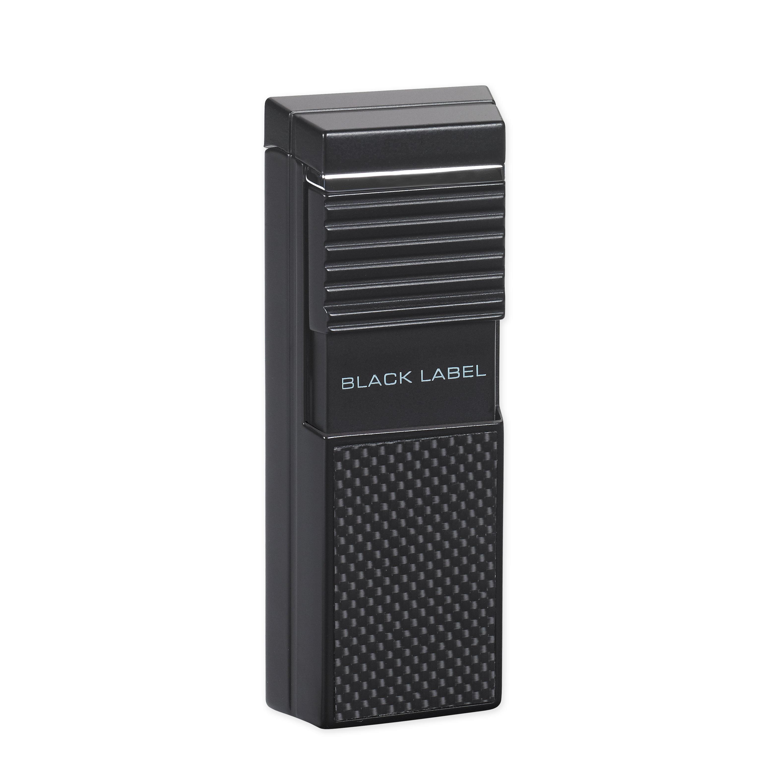 Black Label LBL500 Presidente Flat Flame Torch Lighter
