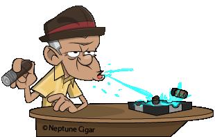 The Cigar Spitter