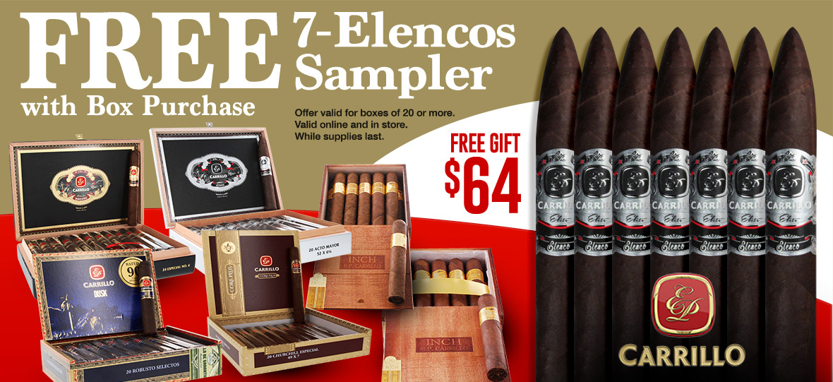 Buy EPC box get 7 Cigars Free!