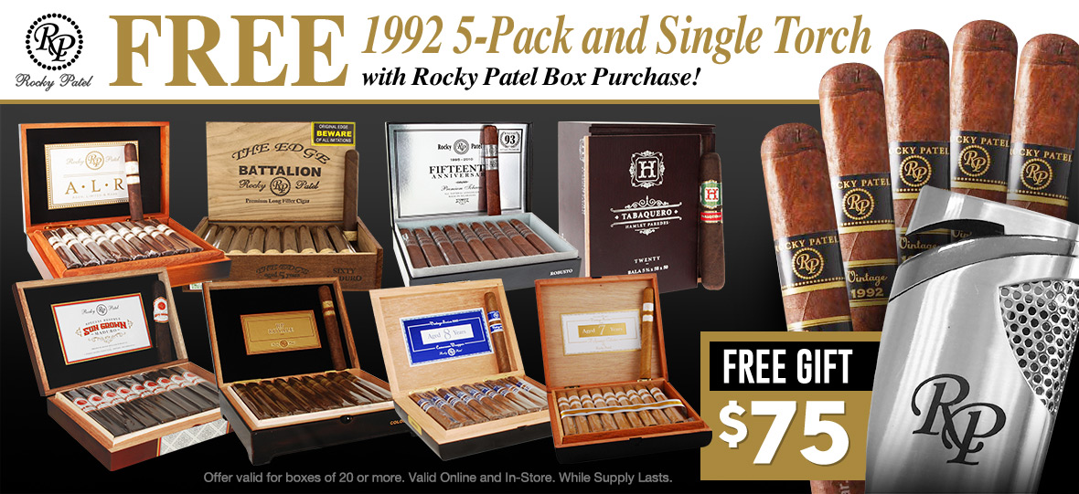 Get a Free 5-Pack and Lighter value $75