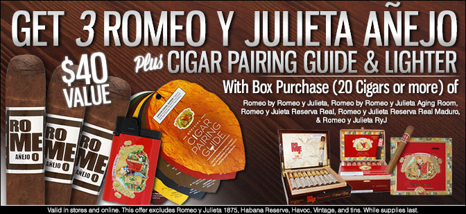 Romeo y Julieta Gift Pack Promotion