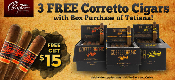 Coffee Break by Tatiana- Free Corretto Taster with Box Purchase