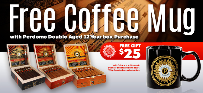 Perdomo Coffee Mug with Box Purchase