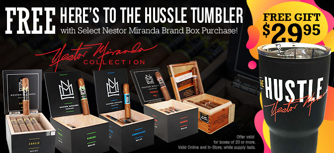 Heres to the Hustle-Nestor Miranda Promotional Tumbler
