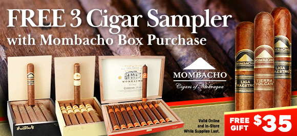 Mombacho Box Purchase get 3-pack Sampler