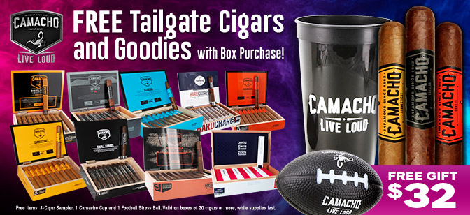 Camacho Free Tailgate 3-Pack, Cup and Ball with Box Purchase!